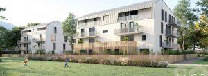 visuel extérieur arriere pour investissement en nue-propriété à Dijon