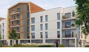 visuel extérieur investissement locatif Pinel quartier Poussots à Dijon