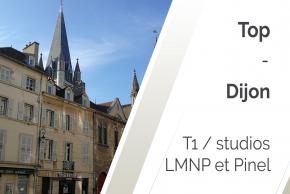 Nos T1 éligibles LMNP ou Pinel à Dijon en 2021