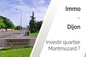 Pourquoi investir à Dijon quartier Montmuzard ?