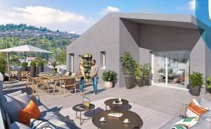 visuel balcon extérieur investissement locatif plombières-lès-dijon