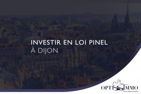 Investir en loi Pinel à Dijon